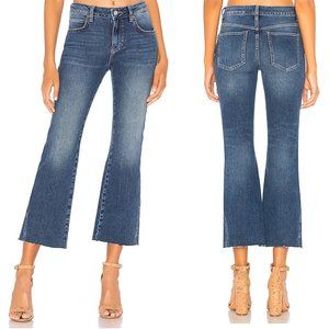 FREE PEOPLE rita crop flare jeans size 26